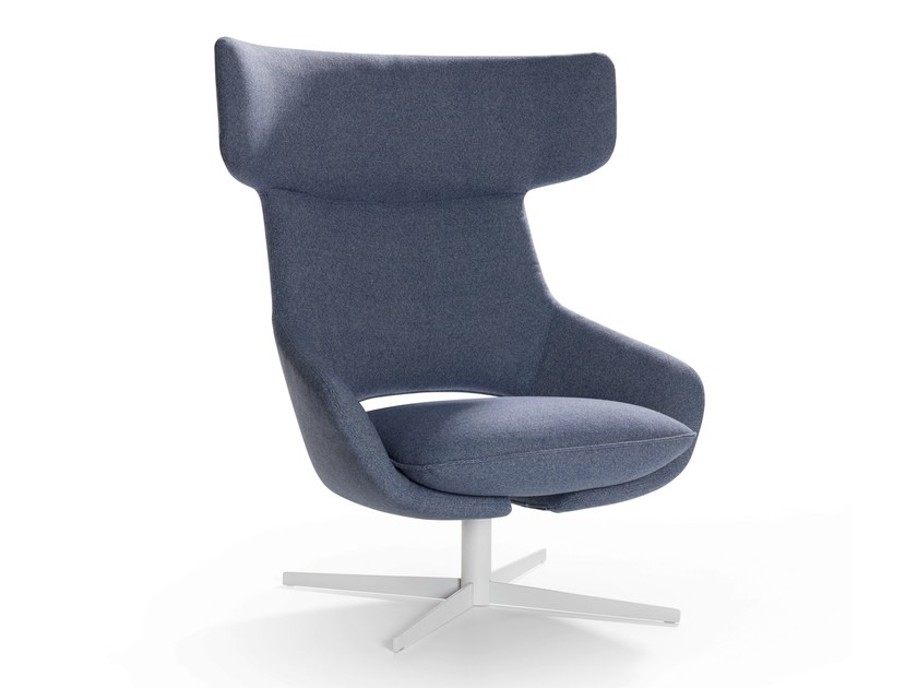 Swivel armchair with 4-spoke base KALM | Swivel armchair - Artifort