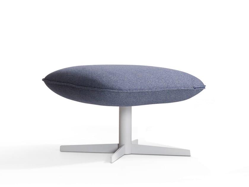 Footstool with 4-spoke base KALM | Footstool - Artifort