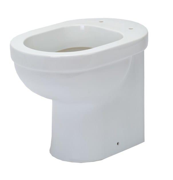 Porcelain toilet SENIOR 46 | Toilet by EVER Life Design