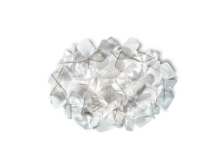 LED Cristalflex® ceiling lamp CLIZIA MINI FUMÈ - Slamp