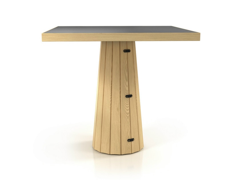 Square table CONTAINER TABLE BODHI 7030 by moooi