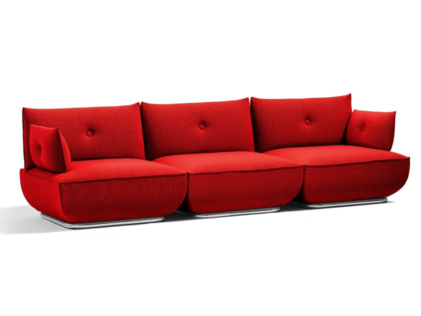 Sectional 4 seater sofa DUNDER | 4 seater sofa - Blå Station
