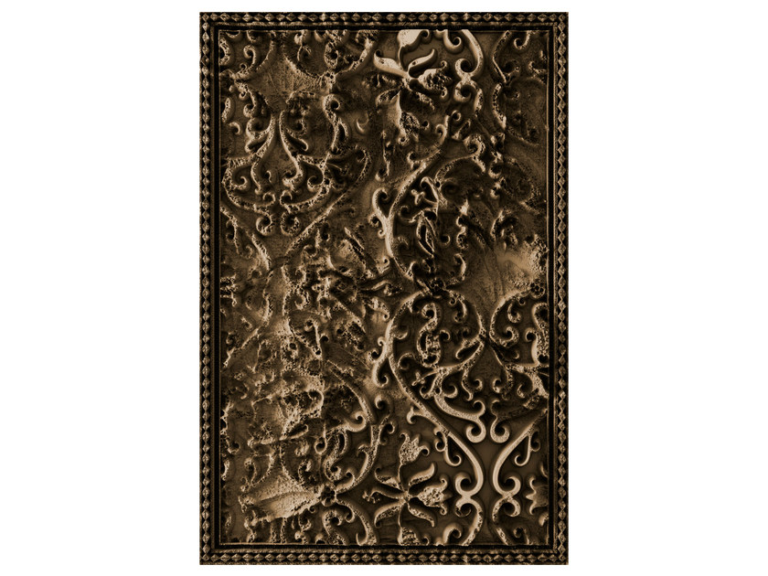 Patterned rectangular rug TOMORROW - Moooi©