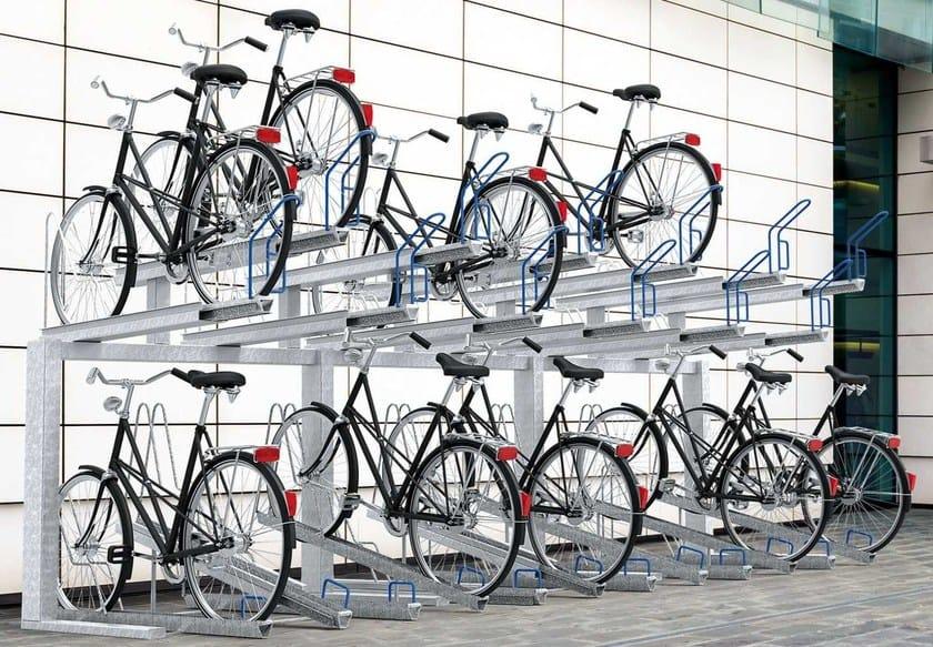 Steel Bicycle rack BIPLANO - Metalco
