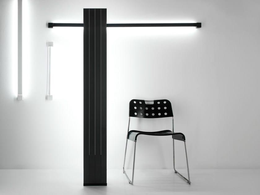 LED indirect light aluminium floor lamp PIVOT | Floor lamp - Fabbian