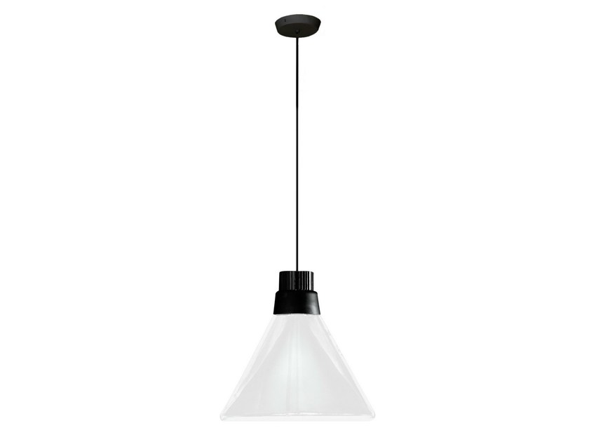 LED Pyrex® pendant lamp POLAIR | Pendant lamp - Fabbian