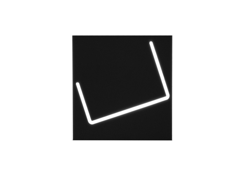 LED aluminium wall light PUÀ - Fabbian