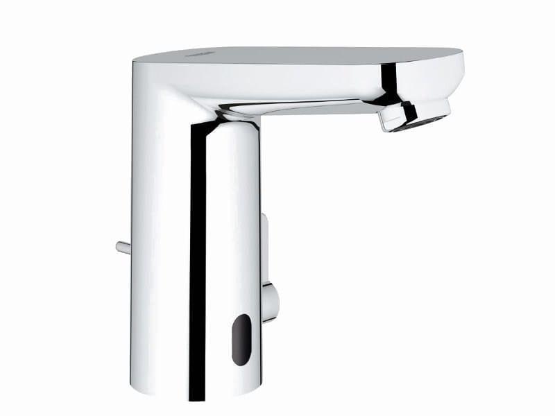 Infrared electronic washbasin mixer EUROSMART COSMOPOLITAN E + POWERBOX by Grohe
