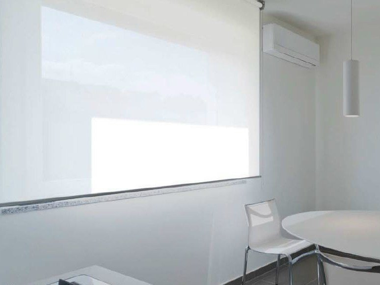 Fabric roller blind LAYLIGHT® SINTESI SINUOSO by RESSTENDE