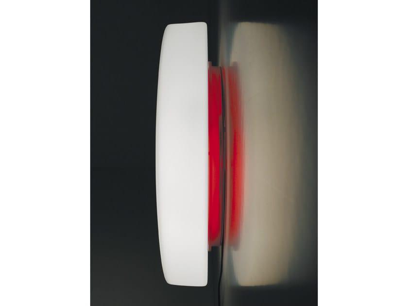 Glass wall lamp DRUM | Wall lamp - Ailati Lights