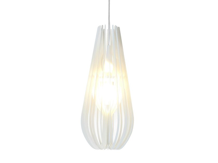 Direct-indirect light plate pendant lamp BURLESQUE | Pendant lamp - Colico
