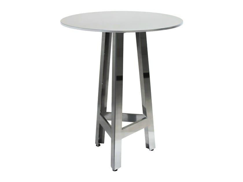 Stainless steel contract table MARTINO-3-X - Vela Arredamenti