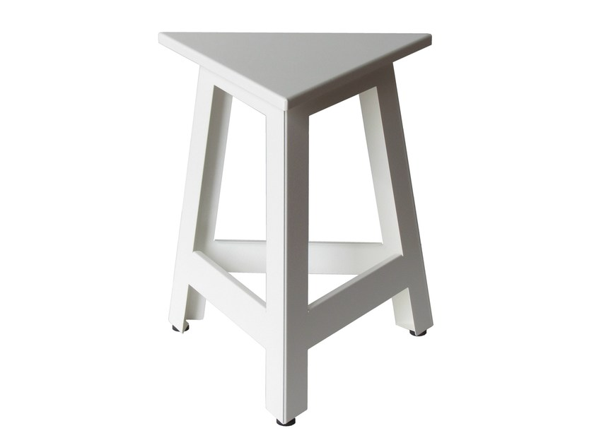 Low iron barstool SG-MARTINO-3 by Vela Arredamenti