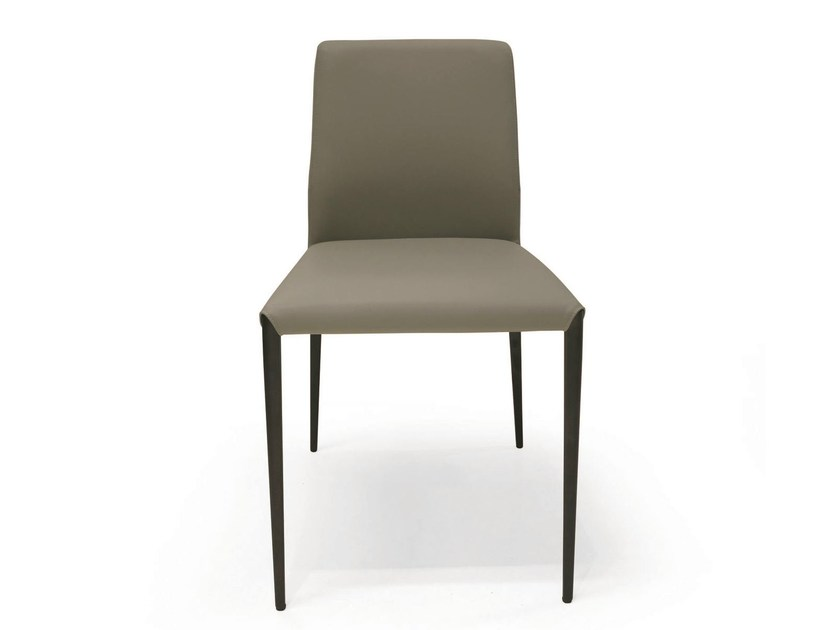 Upholstered fabric chair AURORA | Chair - RIFLESSI