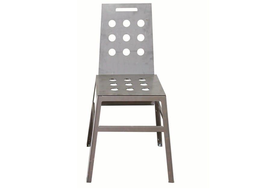 Iron restaurant chair SD-MARTINO-G-FER - Vela Arredamenti
