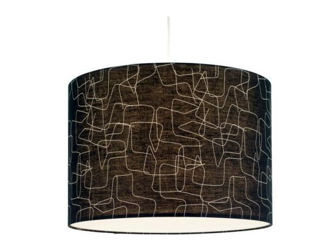 Indirect light fabric pendant lamp LINON by THONET