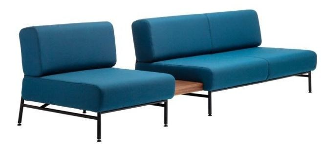 Modular leisure sofa S 652 F - THONET