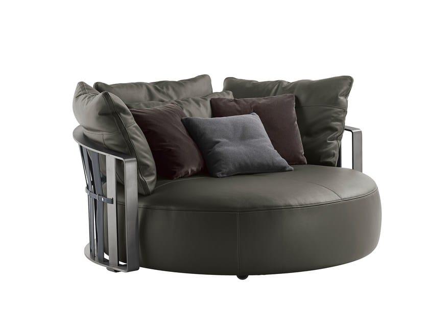 Round sofa SCARLETT - Poltrona Frau