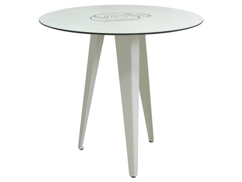 Steel contract table TV-TONIC-3 by Vela Arredamenti