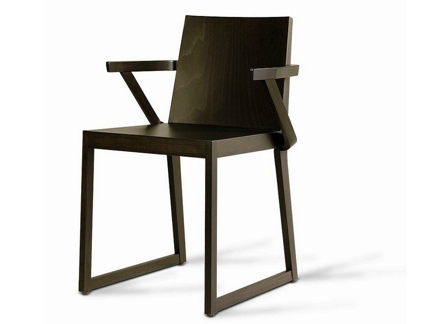 Wooden restaurant chair SD-QUENTIN-B - Vela Arredamenti