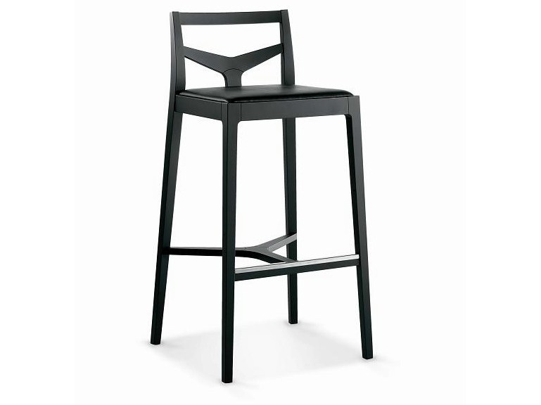 Wooden counter stool SG-MORFEO - Vela Arredamenti