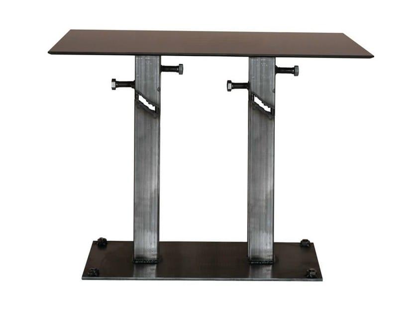 Steel contract table FRANKIE-84-2 - Vela Arredamenti