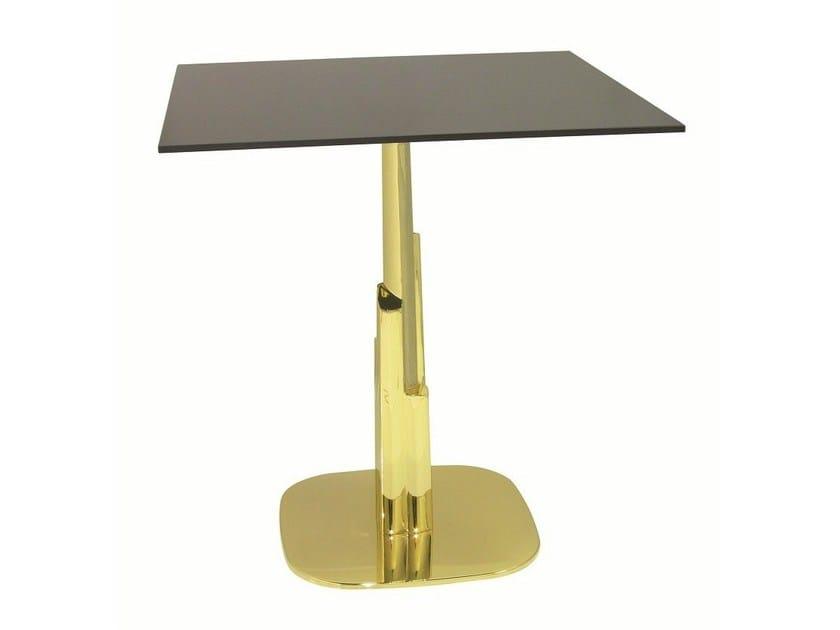 Steel contract table DUBAI-RONDO by Vela Arredamenti