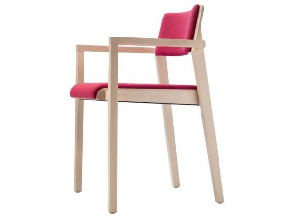 Stackable solid wood chair 330 - THONET
