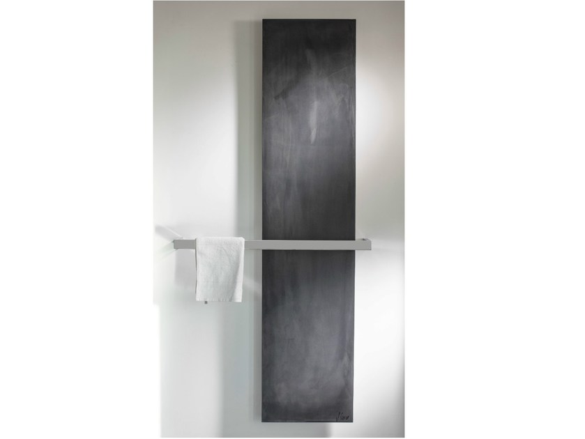 Vertical cement towel warmer UNI BETON - CINIER Radiateurs Contemporains