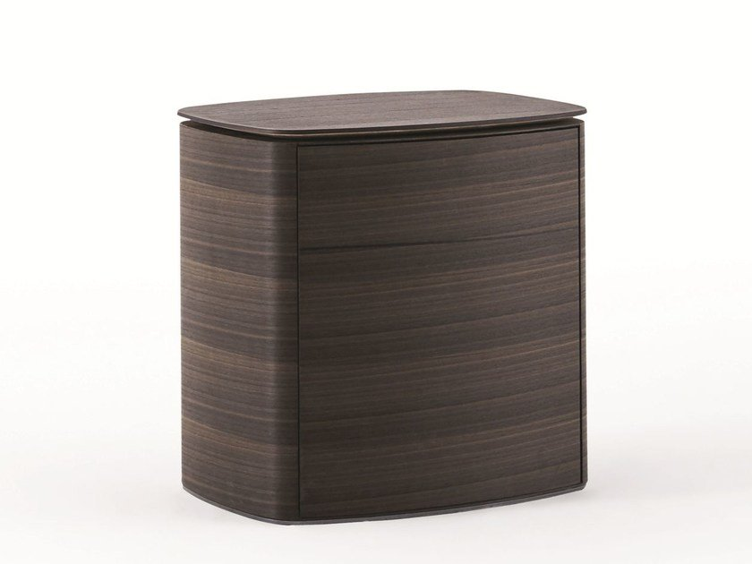 Square eucalyptus bedside table 4040 | Bedside table - MOLTENI & C.