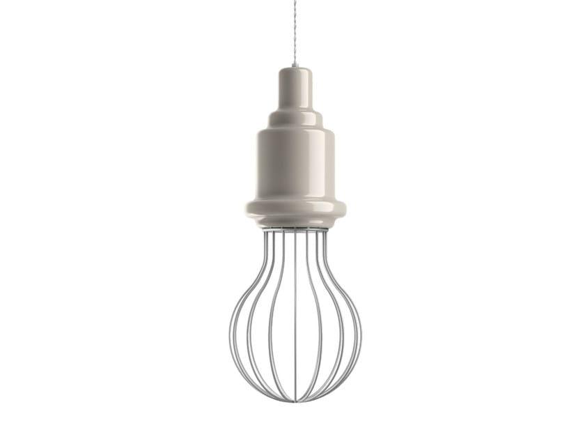 Ceramic pendant lamp EDISON   Pendant lamp by MARIONI
