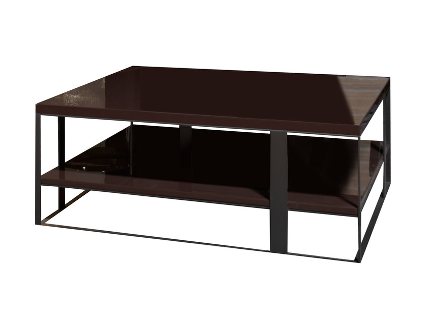 Rectangular wooden coffee table FLOW | Rectangular coffee table - Nube Italia
