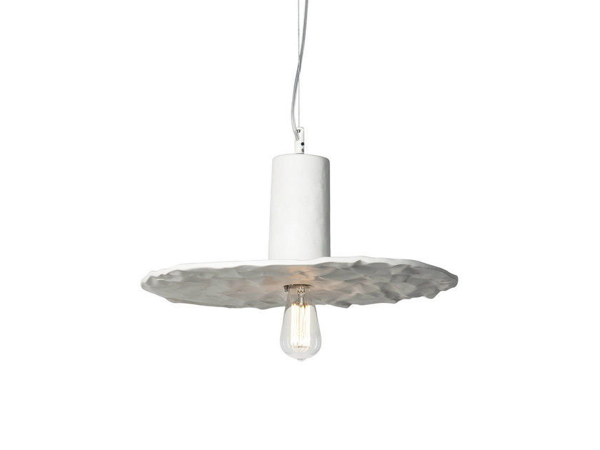 Ceramic pendant lamp SCRIVIMI by Karman