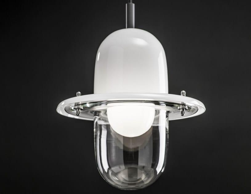 Halogen blown glass pendant lamp HATS | Halogen pendant lamp - Lasvit