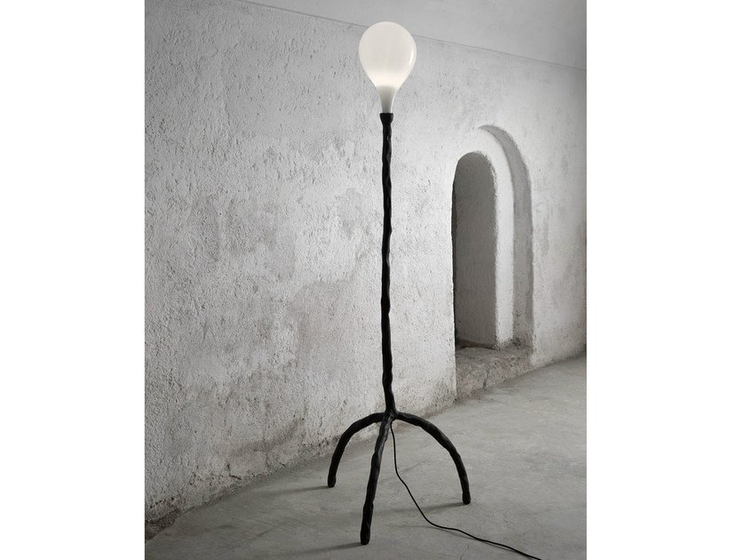 Halogen blown glass floor lamp DAS POP | Blown glass floor lamp - Lasvit