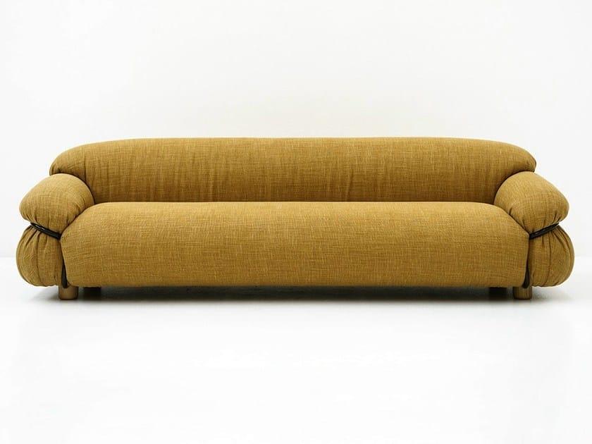 Divano in tessuto a 3 posti sesann divano in tessuto for Canape software