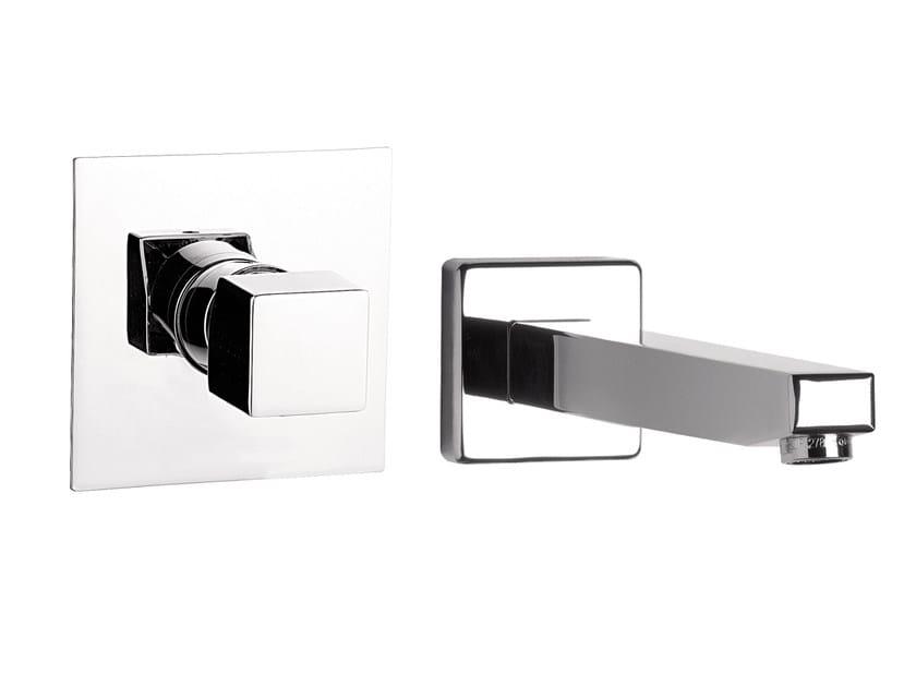 2 hole wall-mounted washbasin mixer OXY | 2 hole washbasin mixer - Daniel Rubinetterie