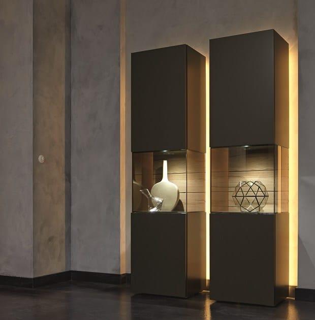 Sectional solid wood display cabinet GENTIS   Display cabinet - Hülsta-Werke Hüls