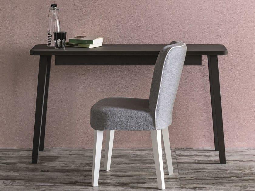 Solid wood secretary desk LC 60 - Letti&Co.