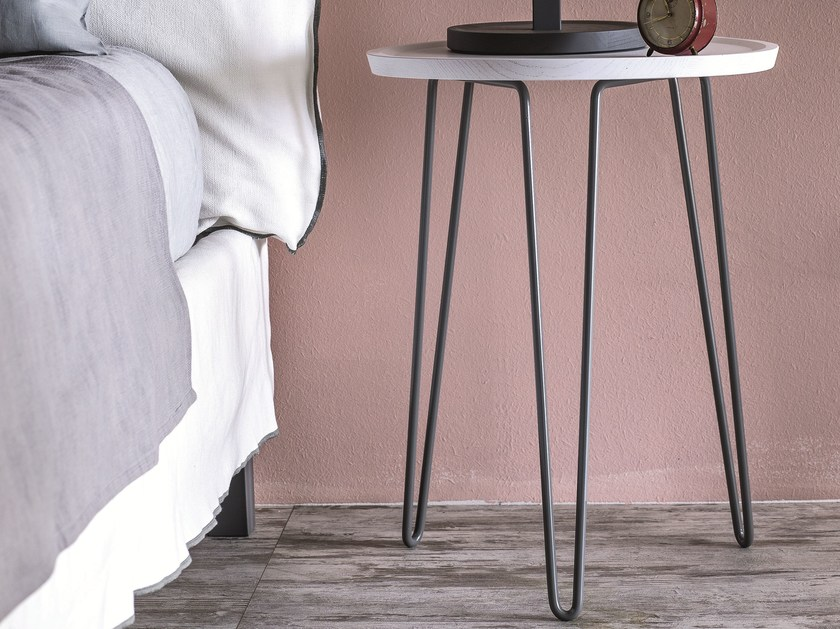 Round bedside table LC 46 - Letti&Co.