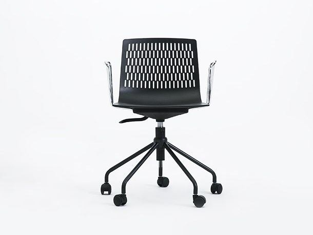 Task chair with 5-Spoke base with casters DASH | Task chair - Grado Design Furnitures