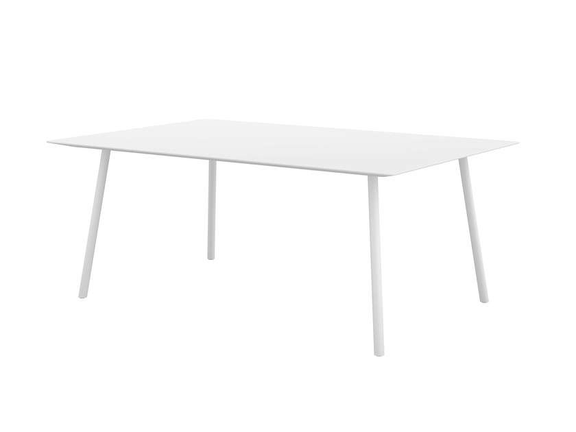 Rectangular MDF table MAARTEN | Rectangular table - Viccarbe