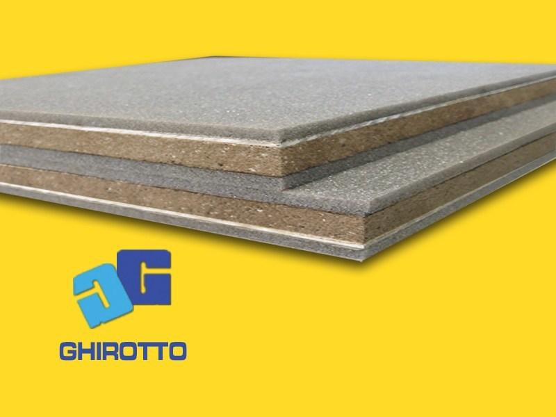 Sound insulation and sound absorbing felt with lead-laminate PIOMBOPAN SB 06+06 - GHIROTTO TECNO INSULATION