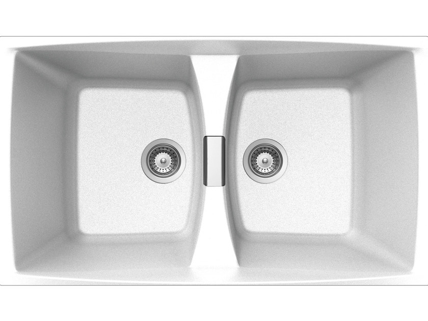 Built-In Unigranit Sink L286WH   Sink - Glem Gas