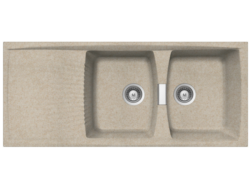 Built-In Unigranit Sink L2G16S | Sink - Glem Gas