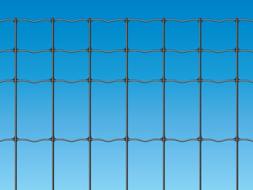 Electrically welded mesh Fence EXECUTIVE PLUS ANTRACITE - Siderurgica Ferro Bulloni