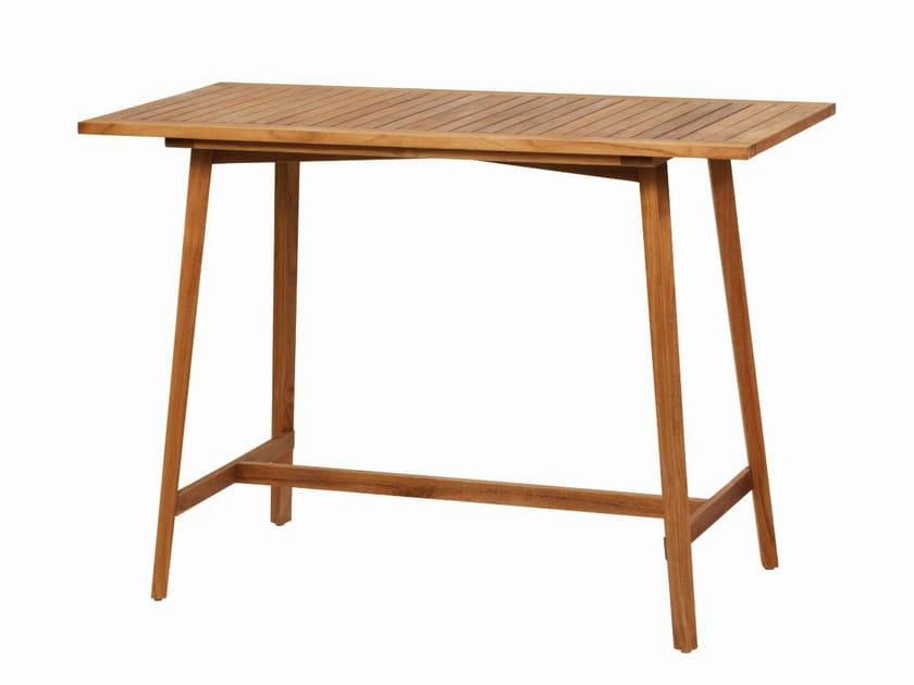Gipsy tavolo by il giardino di legno for Tavolo alto ikea