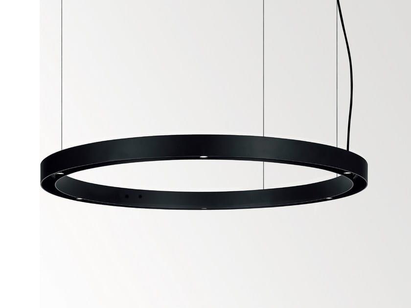 LED direct-indirect light pendant lamp SUPER OH - Delta Light