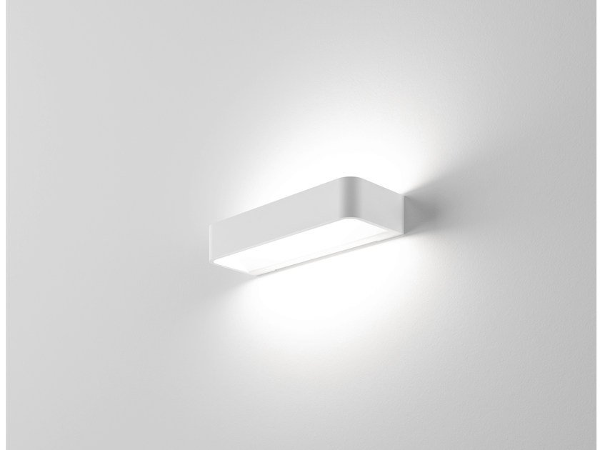 LED extruded aluminium wall light FRAME W2 by Rotaliana