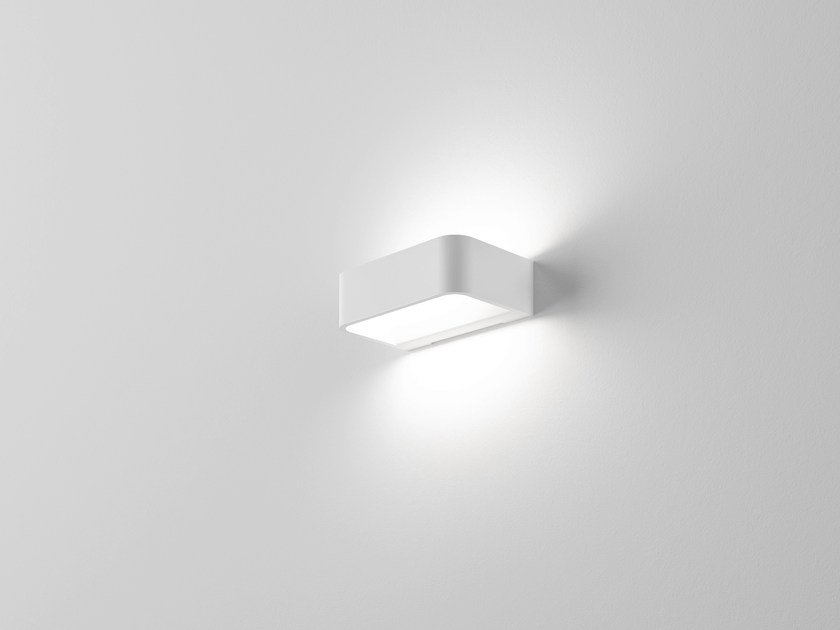 LED extruded aluminium wall light FRAME W1 - Rotaliana